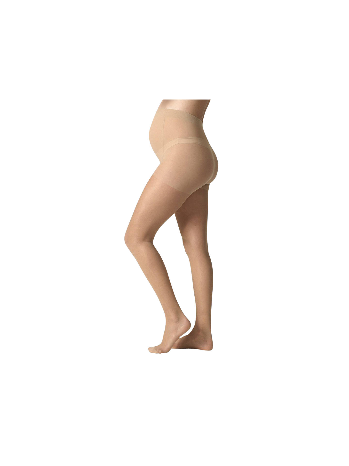 0dac28148890c Buy Séraphine 40 Denier Opaque Maternity Tights, Nude, S Online at  johnlewis.com ...