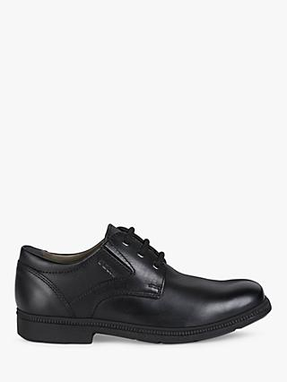 Geox Federico Laced Shoes, Black