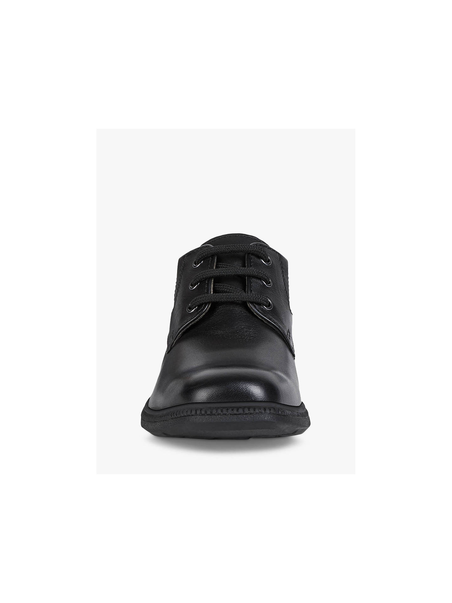 BuyGeox Federico Laced Shoes, Black, 36 Online at johnlewis.com