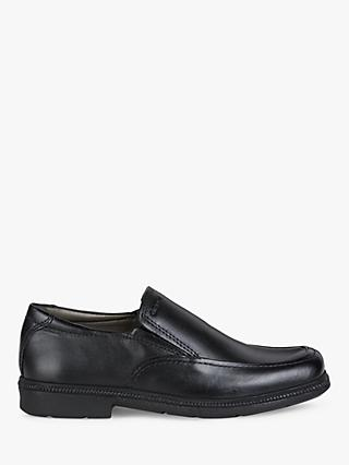 Geox Federico Slip-on Shoes, Black