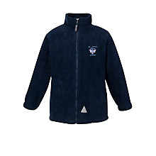 Buy St John's CE VC Primary School Unisex Fleece, Navy Online at johnlewis.com