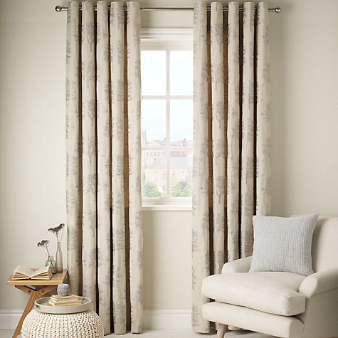 Buy John Lewis Oakley Trees Eyelet Lined Curtains Online At Johnlewis
