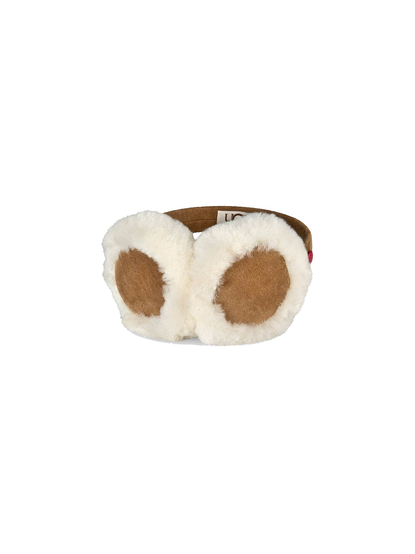 f6a179de33e UGG Children's Ear Muffs, One Size, Chestnut
