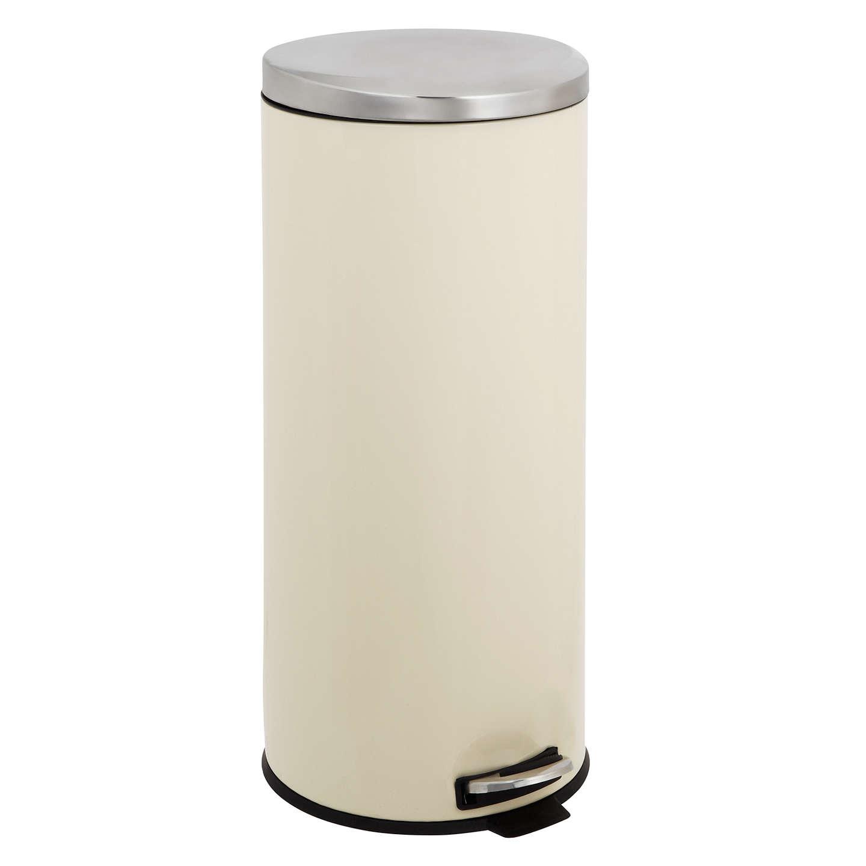 john lewis pedal bin 30l cream at john lewis. Black Bedroom Furniture Sets. Home Design Ideas