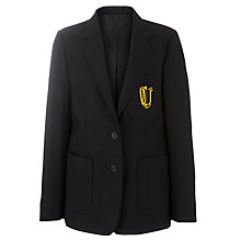 Buy The Mark Jermin Stage School Girls' Blazer, Black Online at johnlewis.com