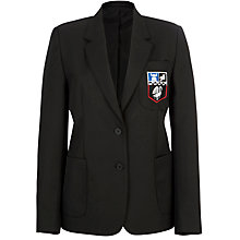 Buy Chesham Grammar School Girls' Blazer, Black Online at johnlewis.com