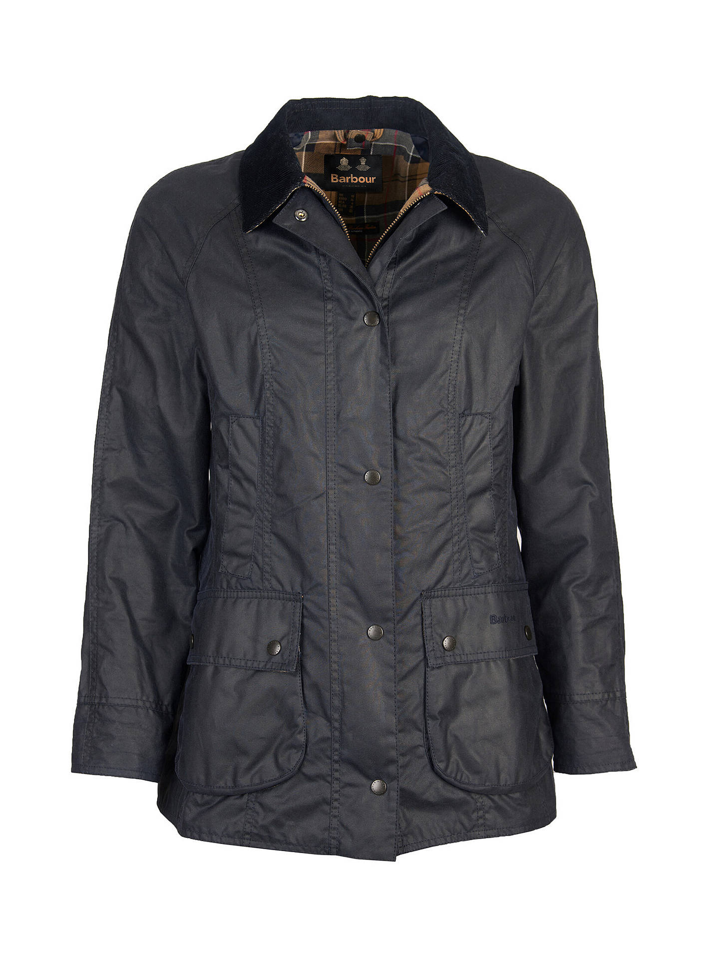 3cabbd534a8 Buy Barbour Tartan Beadnell Waxed Jacket