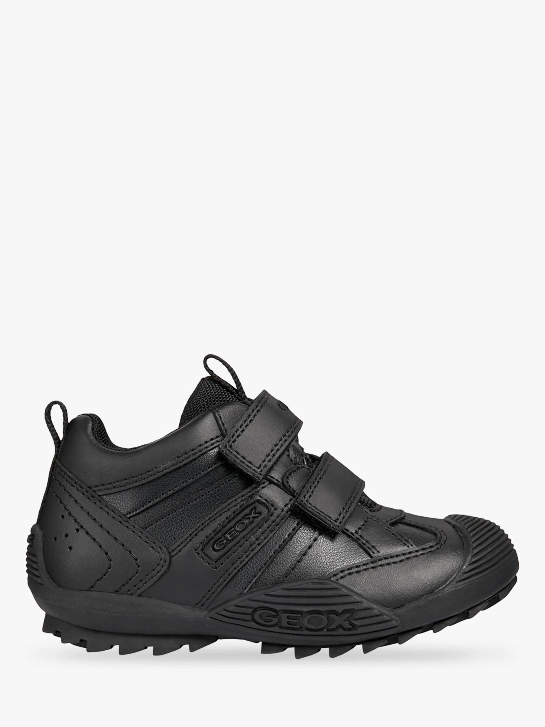56f226077d Geox Children's Savage Shoes, Black at John Lewis & Partners