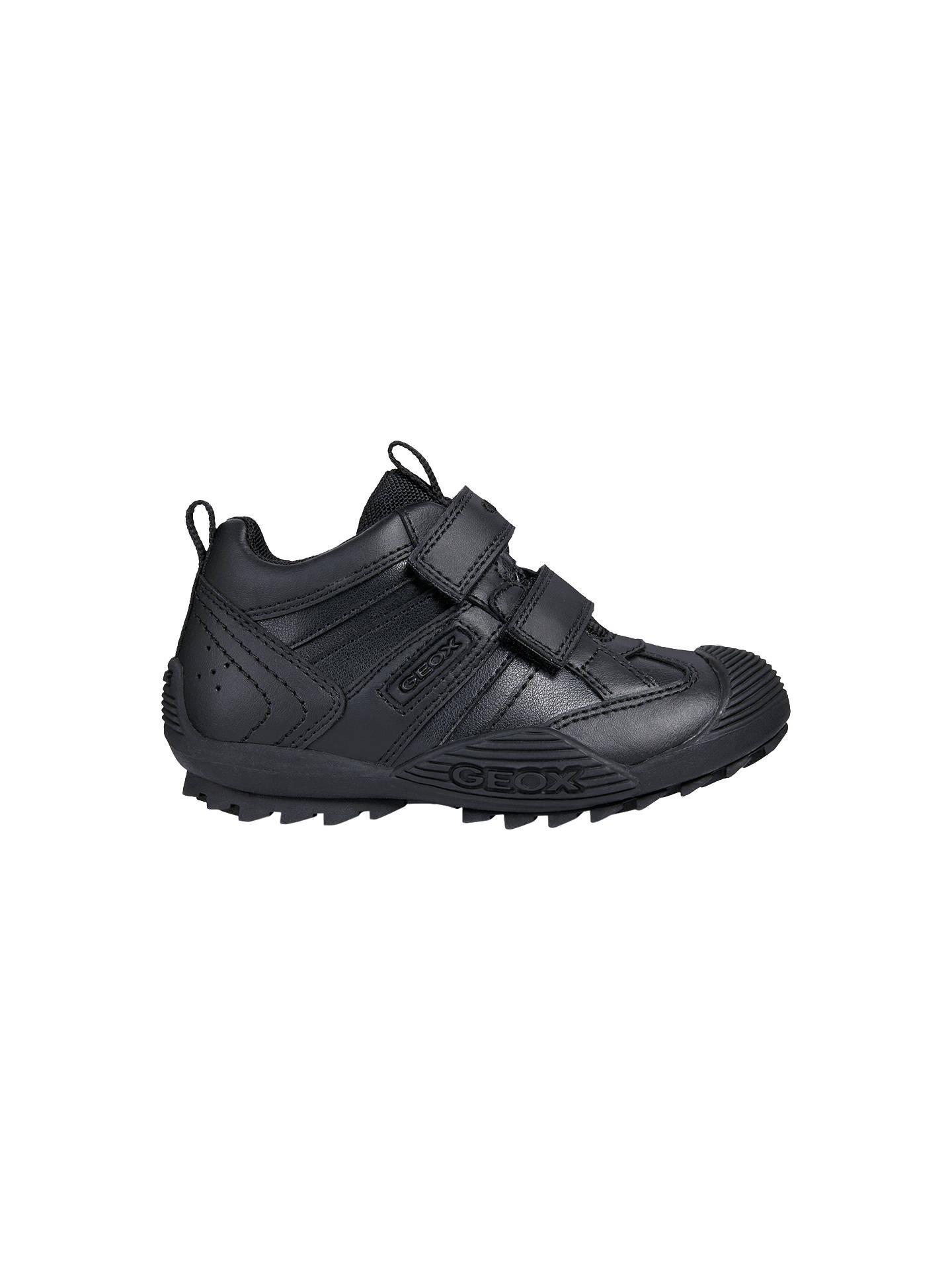 huge discount 20c41 88645 Geox Children's Savage Shoes, Black at John Lewis & Partners
