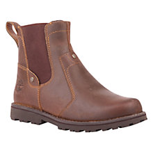 Buy Timberland Children's Asphalt Trail Chelsea Boots, Brown Online at johnlewis.com