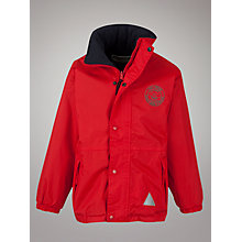 Buy Bilingue/Bilingual Stream of L'Ecole Marie D'Orliac & Holy Cross School Coat, Red Online at johnlewis.com