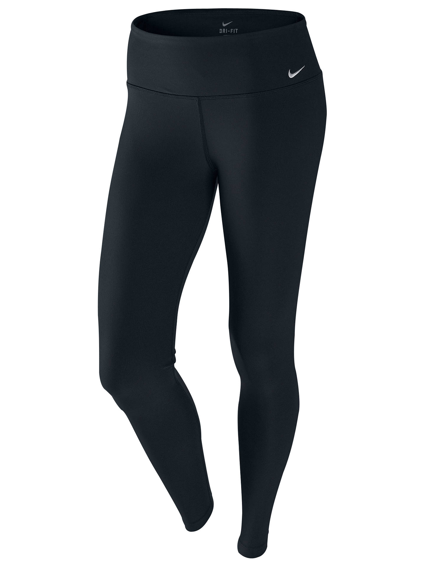 462ecf51 View All Women's Trousers & Leggings. Previous Image Next Image. Buy Nike  Legend 2.0 Poly Running Tights, Black/Cool Grey, S Online at ...