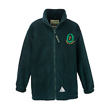 Buy Fernielea Primary School Unisex Fleece, Green Online at johnlewis.com