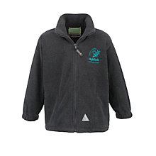 Buy Highfield CE Primary School Fleece, Grey Online at johnlewis.com
