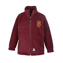 Buy St Edwards RC Primary School Unisex Fleece, Maroon Online at johnlewis.com