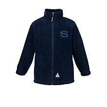 Buy St Martin's School For Boys Fleece, Navy Online at johnlewis.com