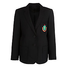 Buy Stanborough School Girls' Blazer, Black Online at johnlewis.com