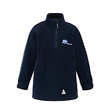 Buy International Community School Unisex Fleece, Navy Online at johnlewis.com