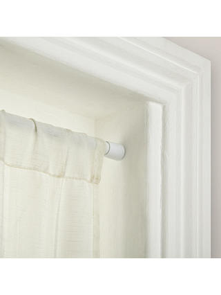 John Lewis Partners Tension Net Rod, Can A Tension Rod Hold Curtain