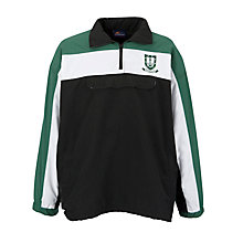 Buy St. Clement Danes Secondary School Boys Tracksuit Top, Black Online at johnlewis.com
