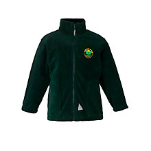Buy Greenbrae Primary School Unisex Fleece, Bottle Green Online at johnlewis.com