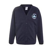 Buy Our Lady Catholic Primary School Cardigan, Navy Online at johnlewis.com