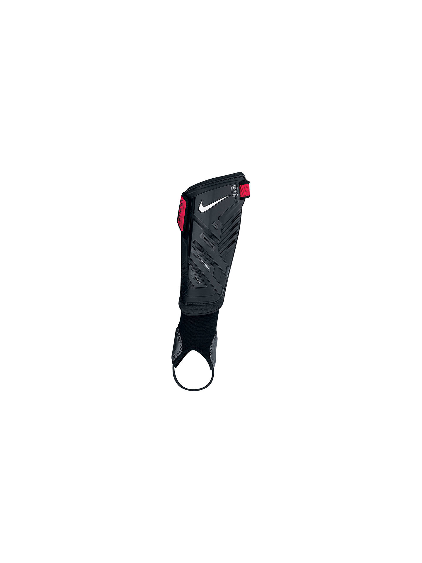 Acechar Divertidísimo tengo sueño  Nike Protegga Shield Shin Pads, Black at John Lewis & Partners