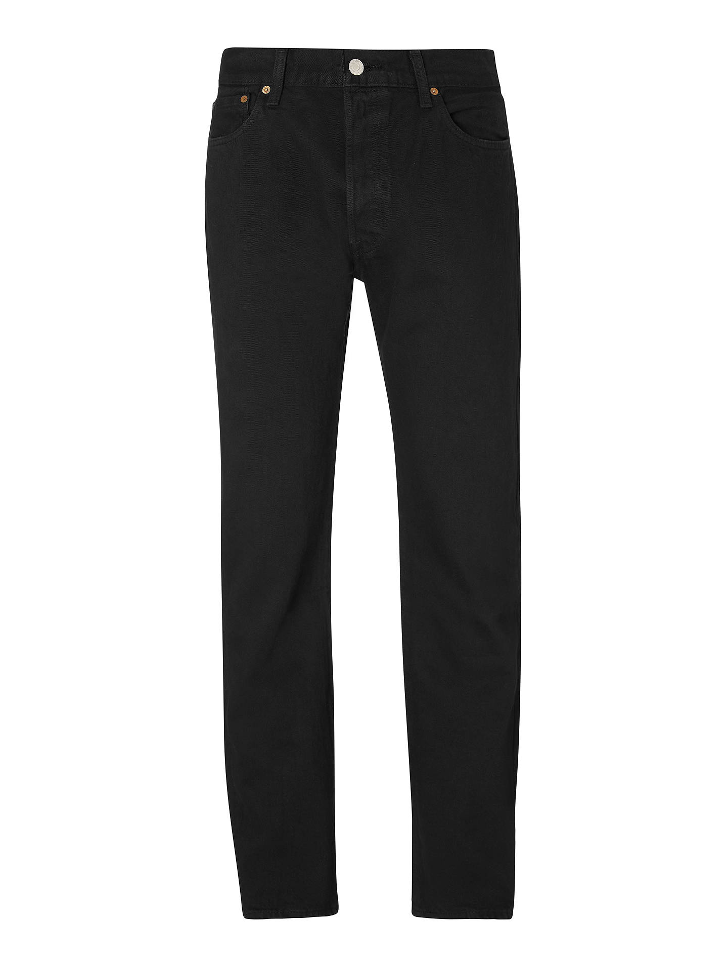 BuyLevi s 501 Original Straight Jeans, Black, 30S Online at johnlewis. ... 9490c717754