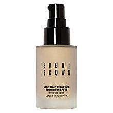 Buy Bobbi Brown Long-Wear Even Finish Foundation SPF 15 Online at johnlewis.com