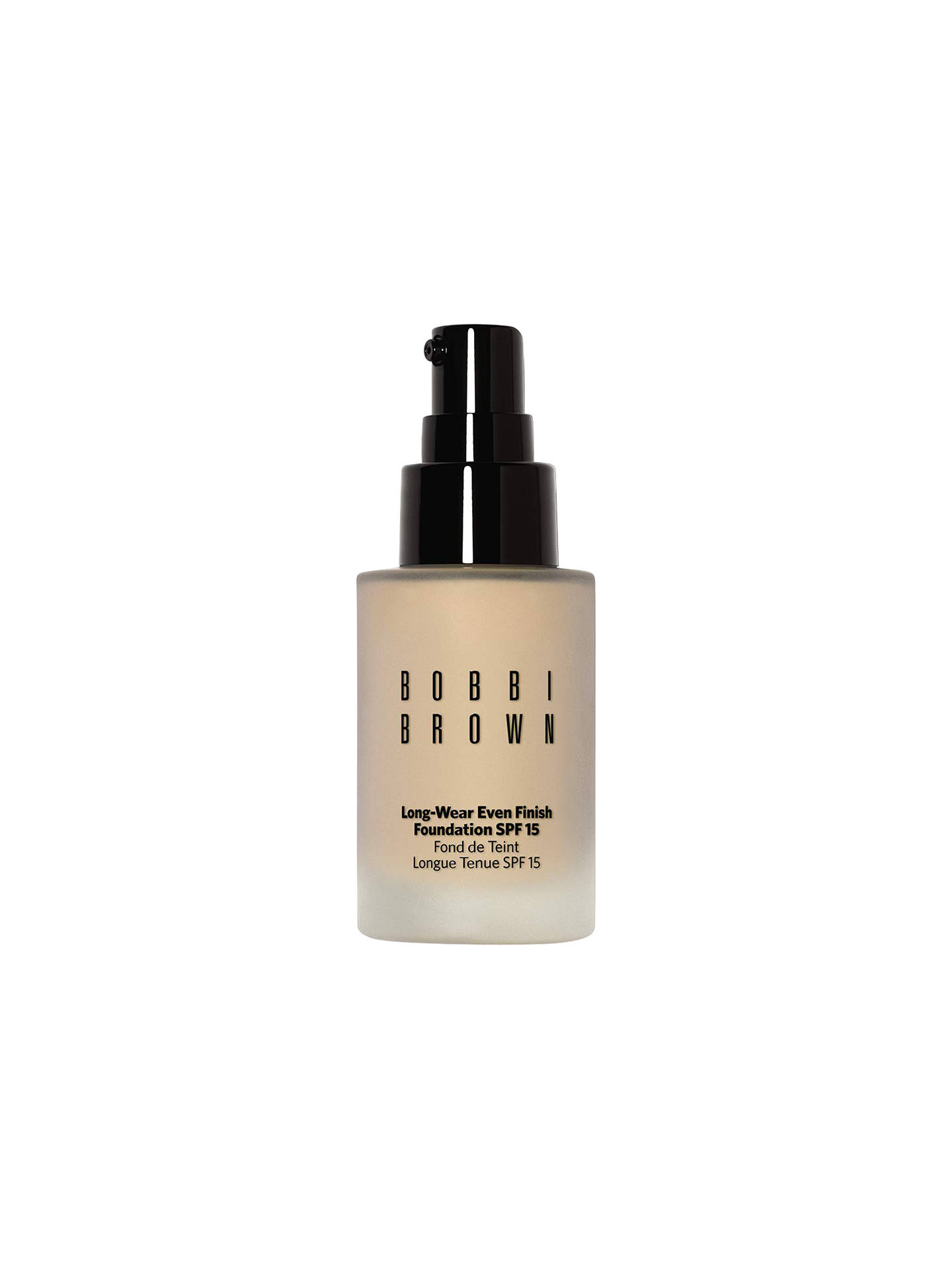 Buy Bobbi Brown Long-Wear Even Finish Foundation SPF 15, Warm Beige Online at johnlewis.com