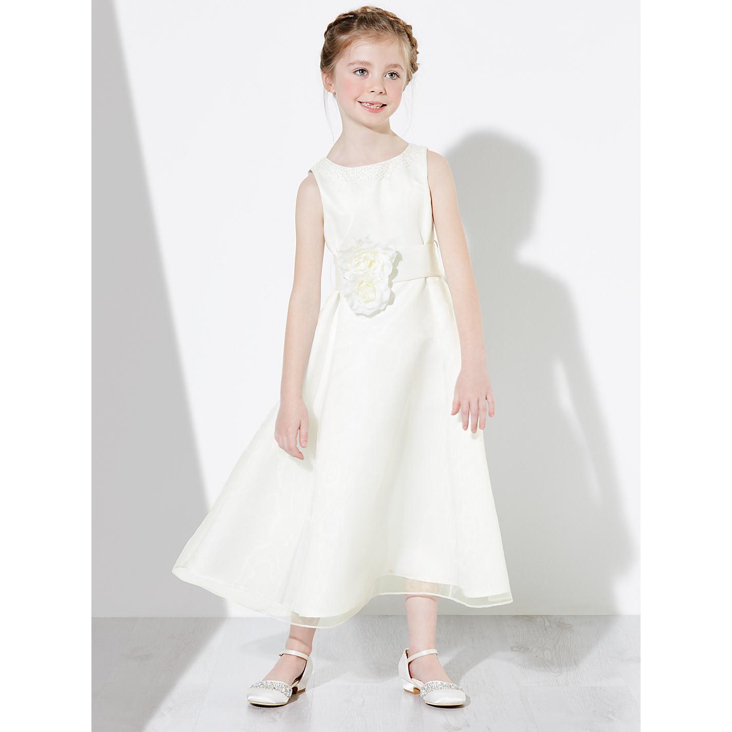 Buy john lewis girls organza bridesmaid dress ivory john lewis buy john lewis girls organza bridesmaid dress ivory online at johnlewis ombrellifo Choice Image