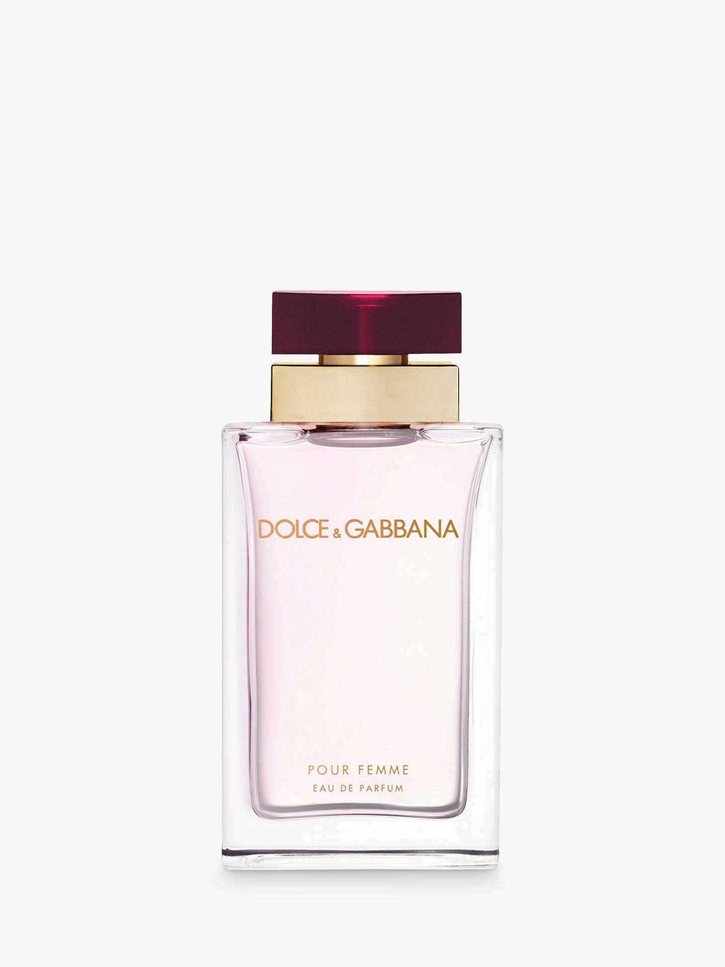 8af1d1586b596d BuyDolce   Gabbana Pour Femme Eau de Parfum, 100ml Online at johnlewis.com