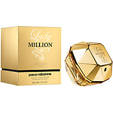 Buy Paco Rabanne Lady Million Absolutely Gold Pure Perfume Online at johnlewis.com