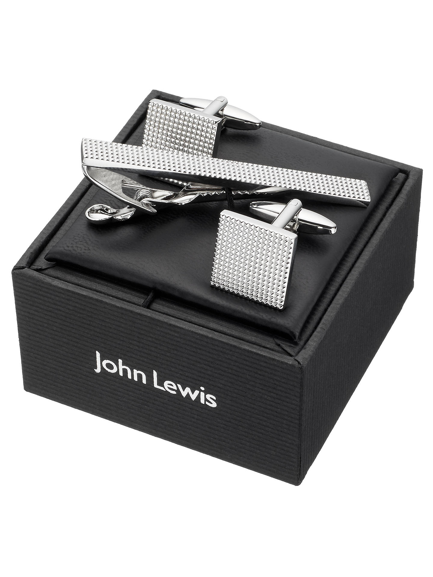 BuyJohn Lewis & Partners Cufflink And Tie Slide Gift Set Online at johnlewis.com