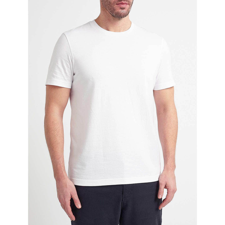 John lewis organic cotton t shirt white at john lewis for Natural cotton t shirts