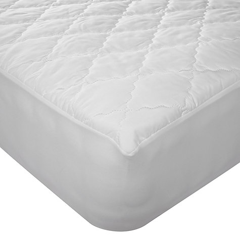 John Lewis Soft Touch Washable Mattress Protector Online At Johnlewis