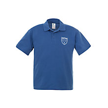 Buy Holme Court School Unisex Polo Shirt, Royal Blue Online at johnlewis.com