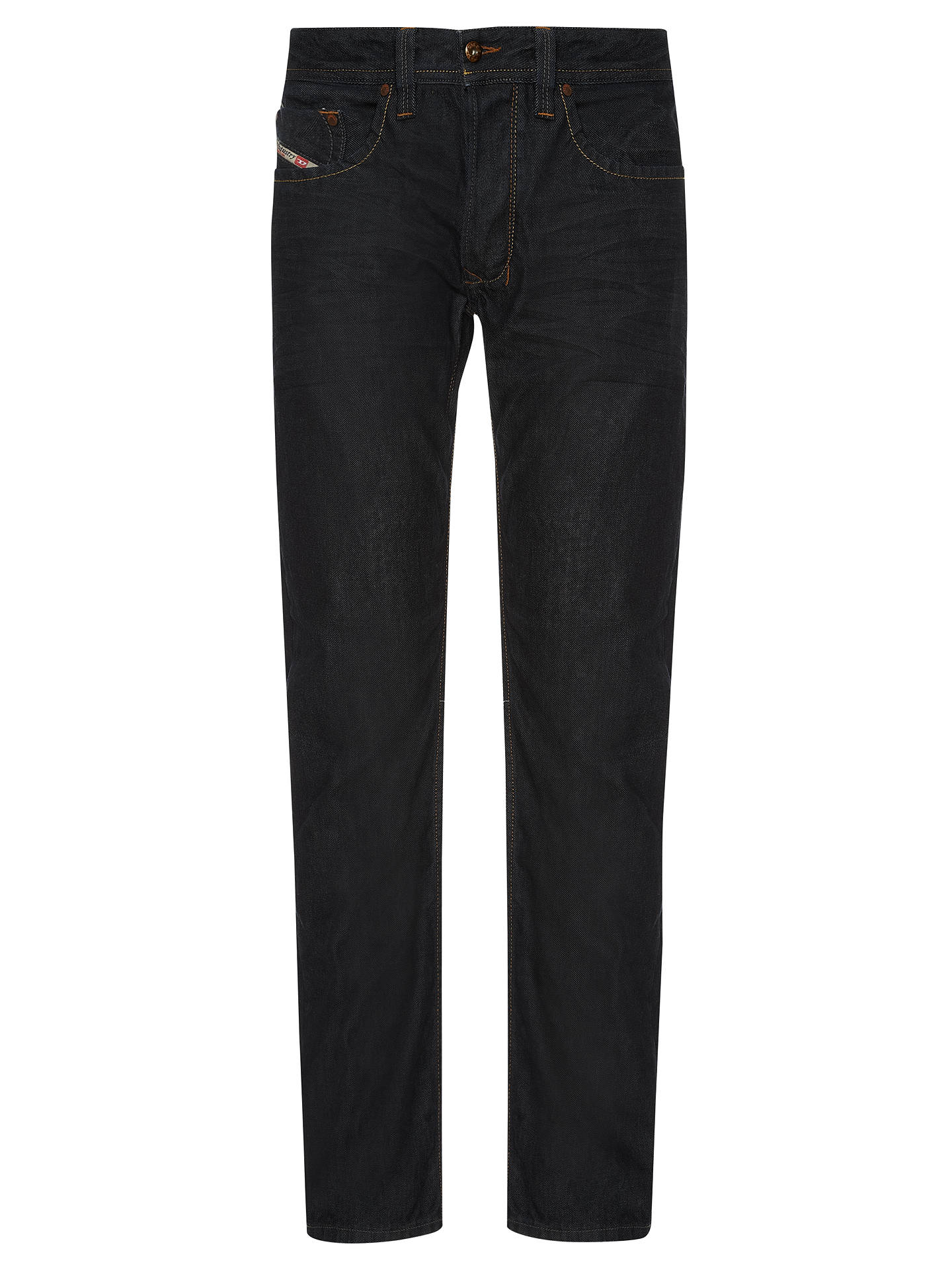 2daf2a09 Buy Diesel Zatiny 0800Z Bootcut Jeans, Blue, 32R Online at johnlewis.com ...