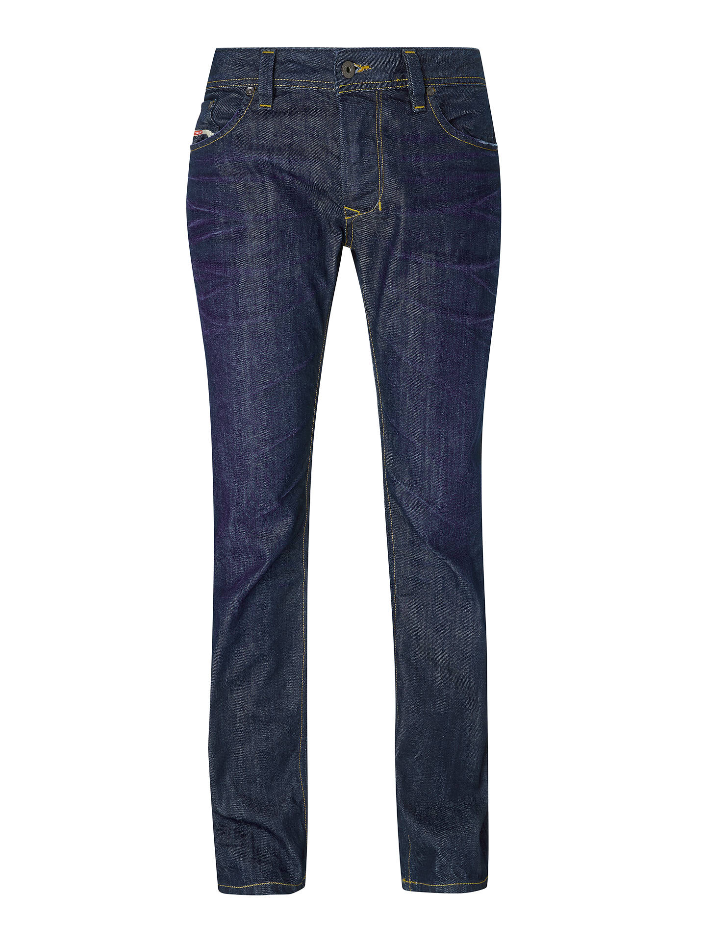 f854f096 ... Buy Diesel Larkee Straight Jeans, Mid Wash 806W, 32S Online at  johnlewis.com