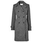 L.K. Bennett Letitia Barrel Coat, Multi £395