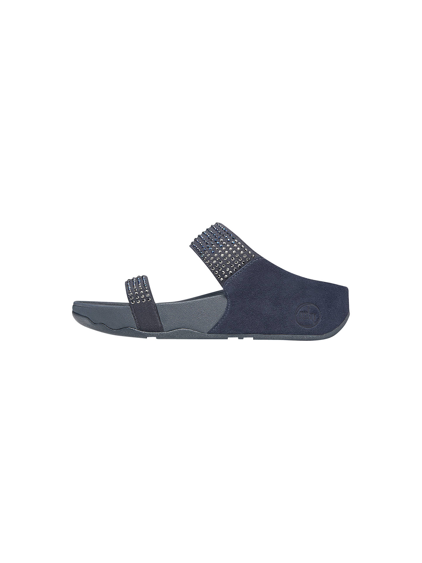 e40feb6e28d4 ... Buy FitFlop Flare Slide Suede Double Strap Flatform Sandals