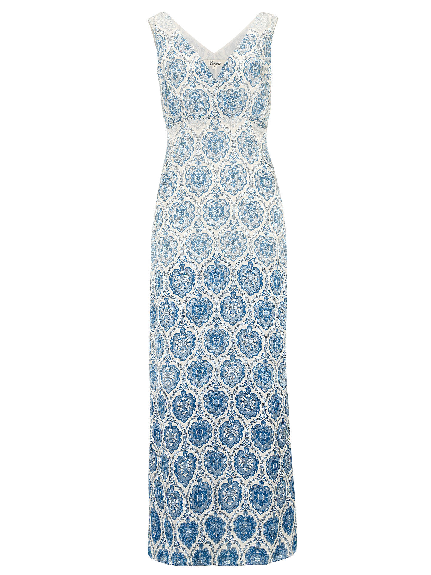 ab437d8fcc2 Buy Somerset by Alice Temperley Tile Print Silk Maxi Dress