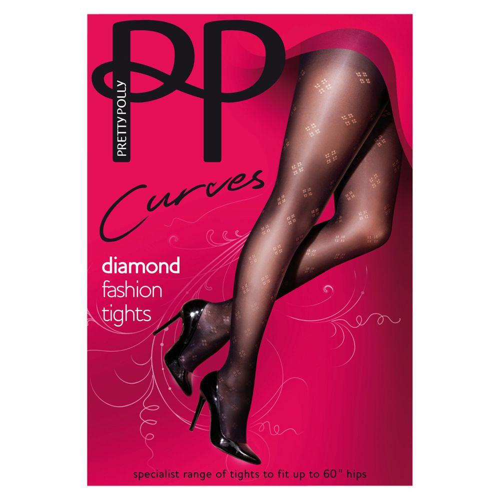 197919149 Pretty Polly Curves Diamond Tights