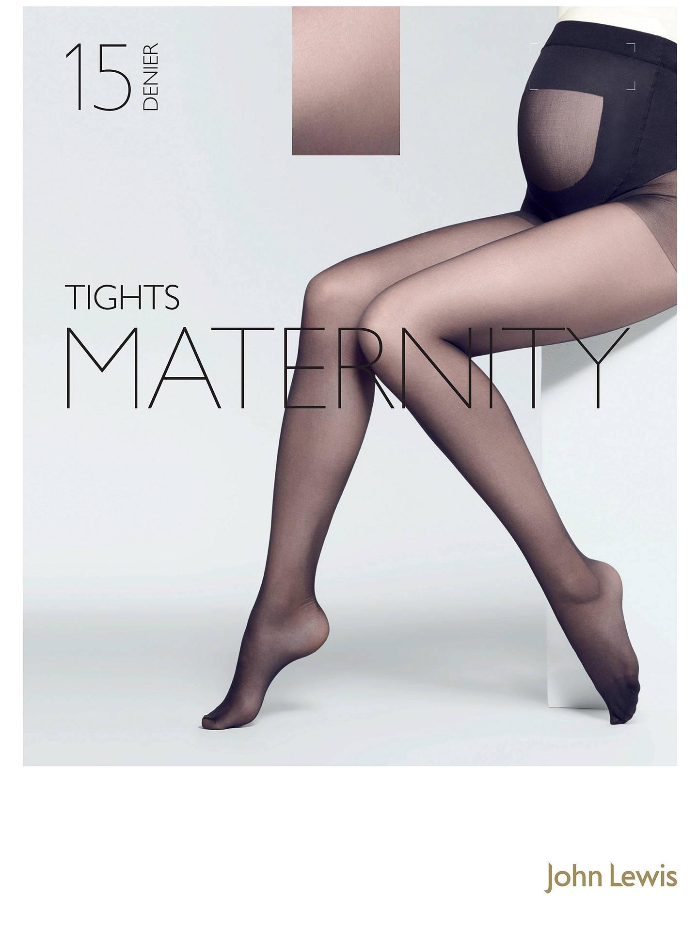 2eb6d5d91fc John Lewis 15 Denier Sheer Maternity Tights at John Lewis   Partners