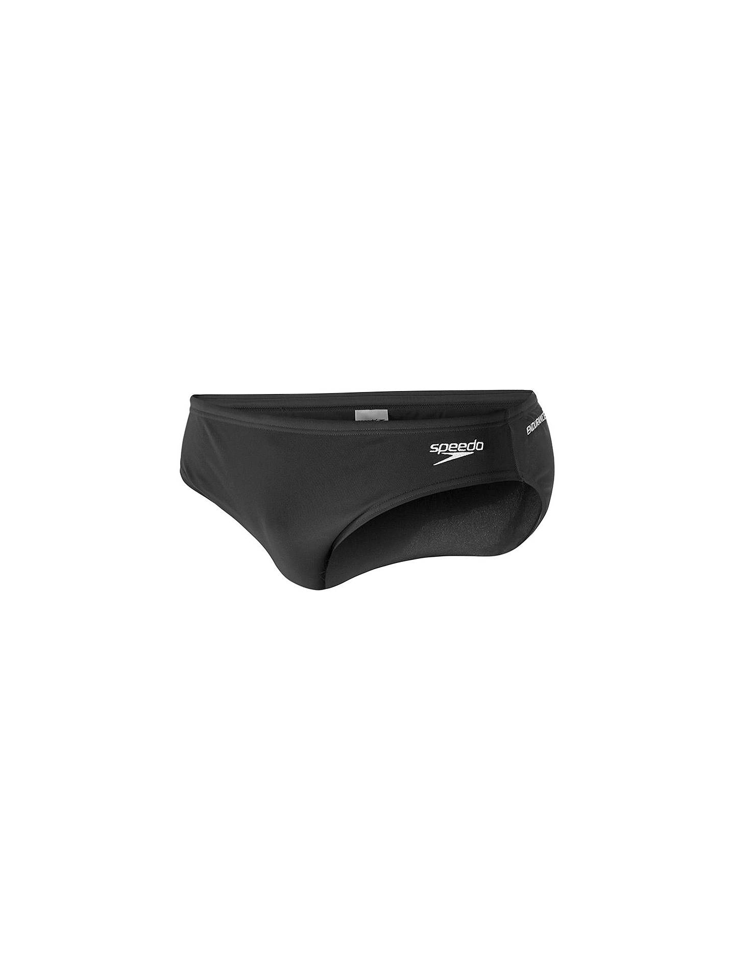 BuySpeedo Endurance+ 7cm Swim Briefs, Black, 32 Online at johnlewis.com