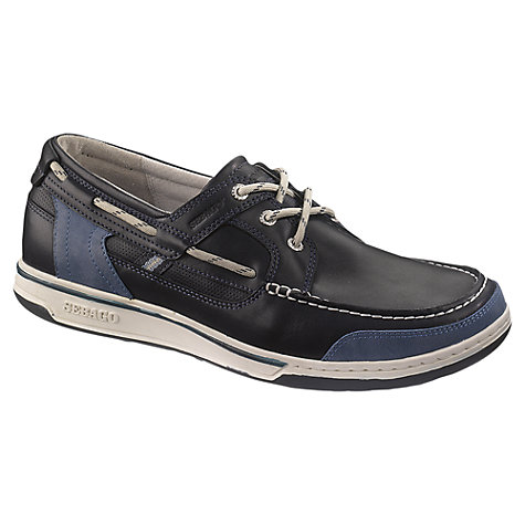 Buy Sebago Triton 3-Eyelet Leather Boat Shoes, Night Online at johnlewis.com