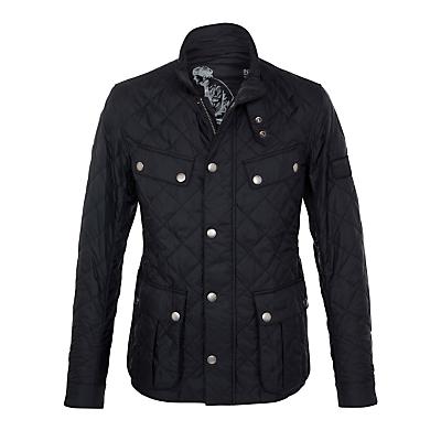 Barbour International Ariel Quilted Jacket Black