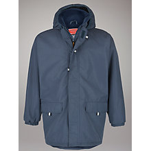 Buy School Unisex Padded Jacket, Navy Online at johnlewis.com