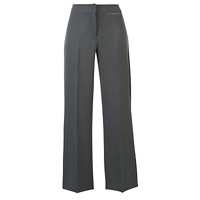 Product photo of Girls bootcut school trousers grey