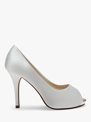 40b75d40320 Rainbow Club Jennifer Satin Platform Peep-Toe Court Shoes